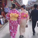 浅草 レンタル着物 かわいい