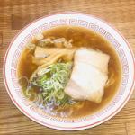 上野 醤油ラーメン